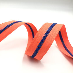 مقص بلاستيكي كبير بالجملة، سحّابات سلسلة طويلة بلاستيكية بجودة رخيصة لعربات