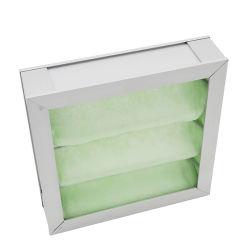 G4 de Inleidende Efficiency Gevouwen Filter van de Lucht met de Materiële Synthetische Vezel van de Kern
