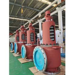 Industriel Cat en acier moulé de la sécurité de l'électrovanne du clapet de décharge de pression de chaudières à gaz de l'eau générateur à turbine à vapeur de la chaudière