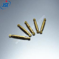 Soemkundenspezifische CNC-Präzision maschinell bearbeiteter industrieller Messing steckt Terminalverbinder für elektrisches fest