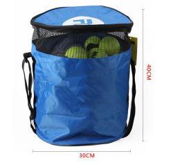 A alavanca multifuncional de desporto levar a bola de futebol de badminton Saco Organizador de bolas de ténis
