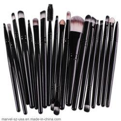 20PCS Eye Makeup Escovas Configurar Ferramenta de lábio Eyeliner Cosméticos Escova Eyeshadow