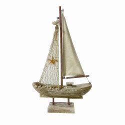 Material de madera artesanales Artesanías Modelo de barco como un recuerdo