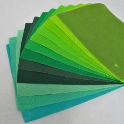 PP coloré filé cautionné tissu non tissé