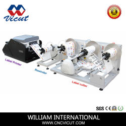 롤 레이블 스티커 바코드 열 인쇄 기계
