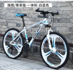 鉄骨フレーム21の速度ギヤマウンテンバイク