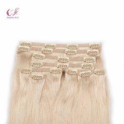 Fabrik-Preis-erstklassiger doppelter gezeichneter Haut-nahtloser einschlagclip in der Haar-Extension