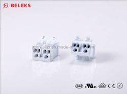 Schneller Draht-Verbinder mit Entriegelung2 Pin-Stoss-Draht-Verbinder UL 300V 10A für Anschlusskasten (P02-D2/9)
