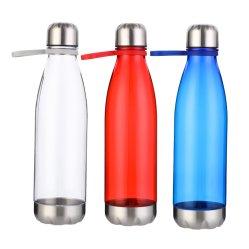 Sans BPA Cola forme Sport bouteille avec de l'eau potable TPR la poignée
