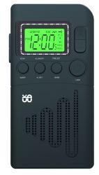 공장 도매 휴대용 비상사태 디지털 FM/Am 형식 자명종 라디오 (LCD 디스플레이 역광선)