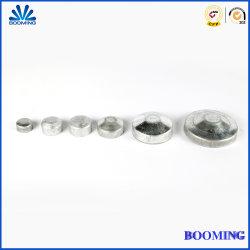 Poignée de clôture/accessoires/galvanisé à chaud//Acier galvanisé recouvert de poudre/dôme Flat-Top ronds/carrés externe Post Caps pour bornes