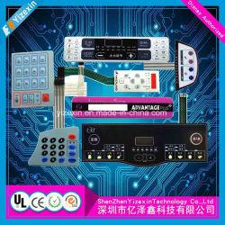 Мембранная клавиатура заводе гибкой печатной платы в сборе в кнопки Двусторонняя PCB печатной платы