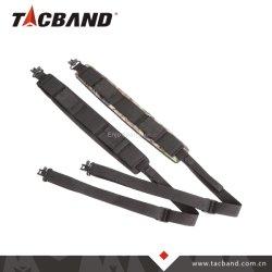 Camoflage extra gruesa de color negro o la caza de neopreno eslinga Pistola Rifle táctico con Qd gira y titular de la munición
