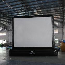 Piscina inflable pantalla proyector frontal portátil de pantalla de películas