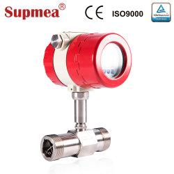 L'eau industrielle 4-20 mA débitmètre à turbine avec connexion filetée