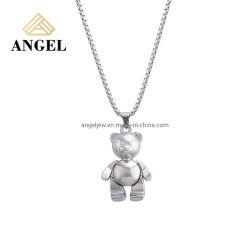 卸し売り創造的な方法 925 の銀製の宝石類の付属品のペンダントの美しい金属 女性のための長いネックレスを取りなさい