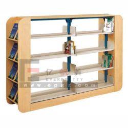 Scaffale per libri moderno della libreria del metallo della mobilia delle biblioteche