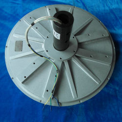 Axialer Flussscheibenankochstelle, Kornloser Permanentmagnet-Generator, Kleiner Wind Turbinengenerator Windmühle Elektrischer AC-Generator