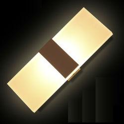 Оптовая торговля дешевые цены 3W 6W теплый белый светильник с одной спальней оформлены LED ночь настенный светильник