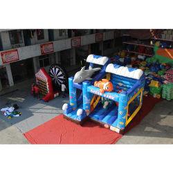 Ocean Kids Combo Bouncer insufláveis Bouncer insufláveis deslize
