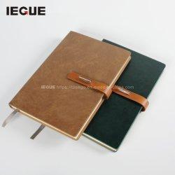 2021 Executive Daily Planner Custom Logo Promotion PU Agenda Leder Notitieboekje dagboek A5 Size Note Book met sluiting van de Buckle