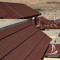 Kostenloses Muster Erschwinglich Milano Art Stein Beschichtet Stahl Metall Dach Zubehör Für Dachziegel