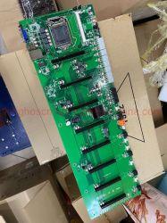이더넷 광산업 기계 마더보드 PCIe i3 I5I7 인텔 B85 셀러론 CPU Miner Machine 6 8GPU Eth Miner 케이스