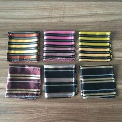 Верхней Части стандартов качества широкой полосой дизайн мужчин из тончайшего шелка Pocket квадратных