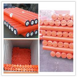 Orangefarbene PE-Planierrolle/PE-Planierrolle/Poly-Planierrolle