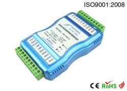 0-5V/0-10V/4-20mA al trasmettitore isolato RS232/RS485/TCP con 3kv isolamento (ANNUNCIO 08-RJ45-U (A) di SY)