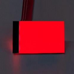 工場は小型LEDのボードにオレンジカラーEL LCD Backightを作った