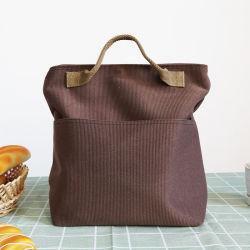 ترويجيّ يعزل علامة تجاريّة يطبع [أإكسفورد] قماش غير يحاك حمل مبرّد وجبة غداء حقيبة