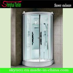 Governo semplice completato curvo glassato dell'acquazzone di vetro di fibra (TL-8846)