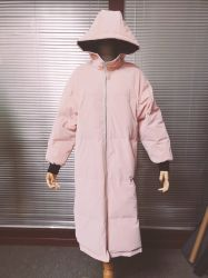 2020 Hot Sale extrêmement doux sentiment à la main pour vêtements en cuir artificiel PU Down Jacket