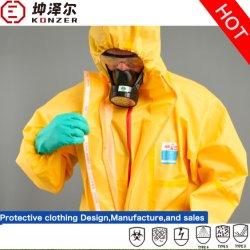 يوفر المصنع خدمات طبية عالية الجودة / صناعية / كيميائية يمكن التخلص منها ملابس واقية من السلامة (K2000/K2000B/K3000/K4000) مع شهادة FDA / CE