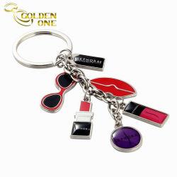승진 선물에 의하여 주문을 받아서 만들어지는 로고 금속 사기질 매력 Keychain