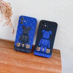 Casse del telefono del progettista dell'orso di marca di modo per il iPhone 12 12PRO massimi