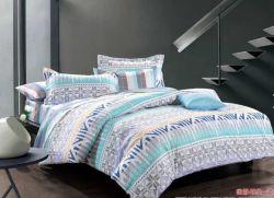 卸売高品質コットン 100% プリントの 3 点ベッドカバーセット寝具 セット( 1 ピースドュベカバー 1 ピースボックスシーツ 2 枚、枕カバー)