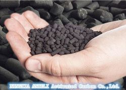 H2s Removal Impregnated Activated Carbon Pellet Biogas Treatment Air Purification와 Water Purification