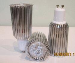 Asa haute puissance éclairage par spots LED Bridgelux 9W Lampes (GU10/MR16/E27 disponible)
