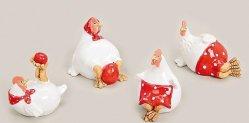 2016 Hot Pâques en céramique Décoration maison de conception de Coq