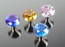 Freier normaler Kugel-Kristallgriff