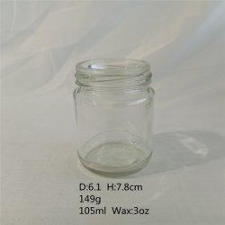 3oz de duidelijke Fles van de Opslag van het Glas voor Kruid of Saus