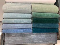 Nouveau design gaufré sur Holland rideau de velours tissu