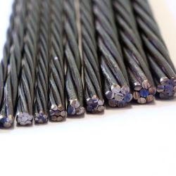 O fio de aço para betão armado em 12,7 mm PC Pesos Strand PT Strand