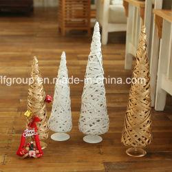 Tissé à la mode personnalisé Willow Accueil Décoration de Noël en différentes couleurs