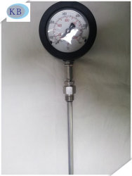 50+650c 304 Acero Inoxidable de gases de escape de aluminio negro Mak Termómetros de alta temperatura industrial