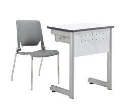 Empujar escuela universitaria de estudiantes de Formación de la Oficina escritorio y silla