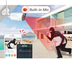 Im Freien wetterfeste IR Nachtsicht-Sicherheits-videoÜberwachungskamera Vstarcam C13s DER CCTV-IP-Kamera-Sirene-Warnungs-IP66 2MP