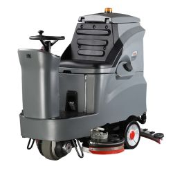 Dual Brush Ride automatique sur le plancher épurateur GM110BT85